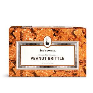 Hanukkah Peanut Brittle