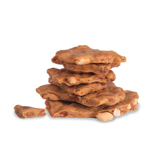 Christmas Peanut Brittle