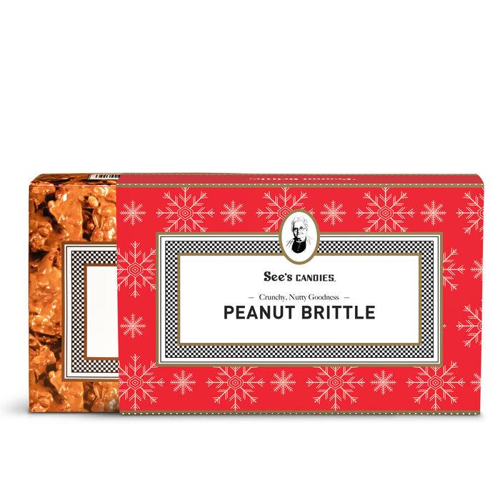 Christmas Peanut Brittle