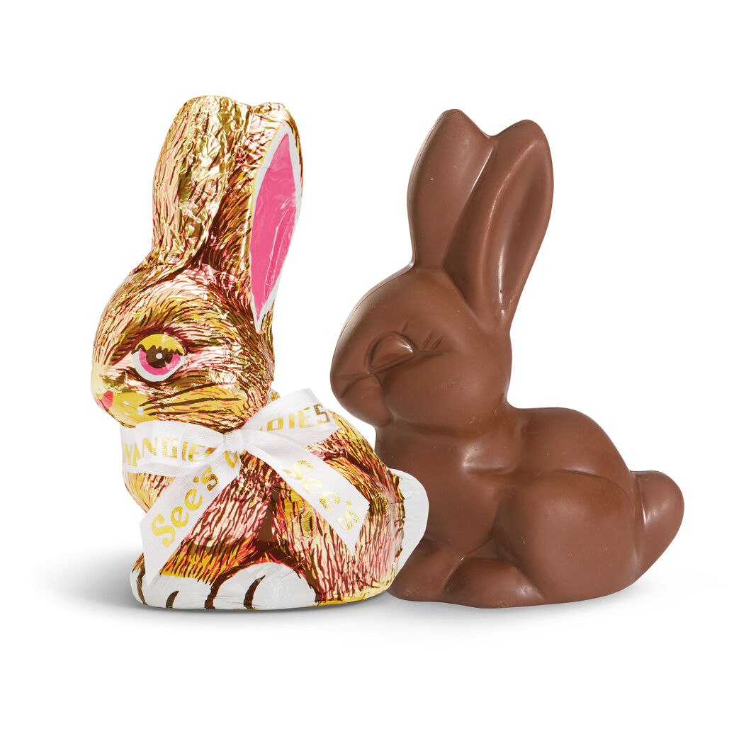 Milk Chocolate Bunny | See's Candies