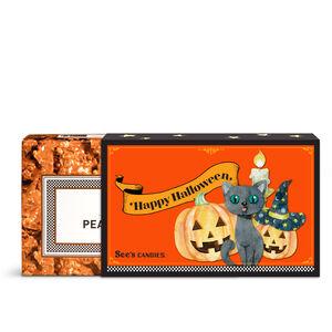 Happy Halloween Peanut Brittle
