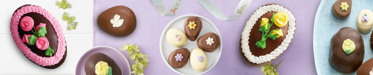 See's Chocolate Easter Eggs