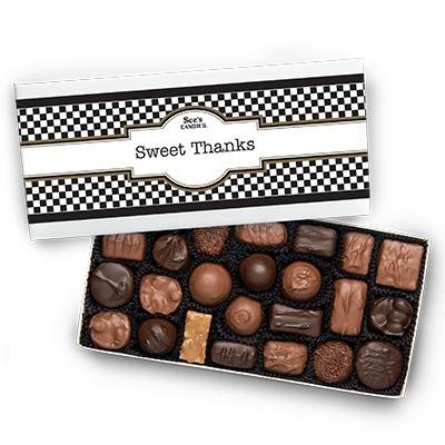 Assorted Chocolates Thank You Box