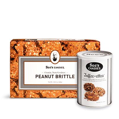 Peanut Brittle & Toffee-ettes