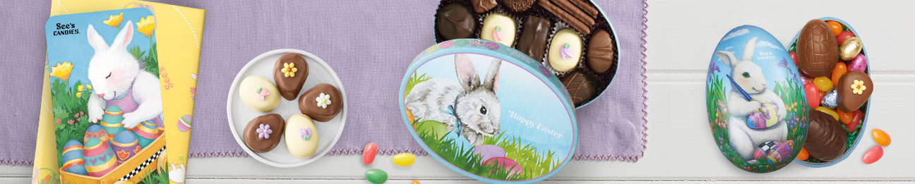 See's Easter Basket & Gifts