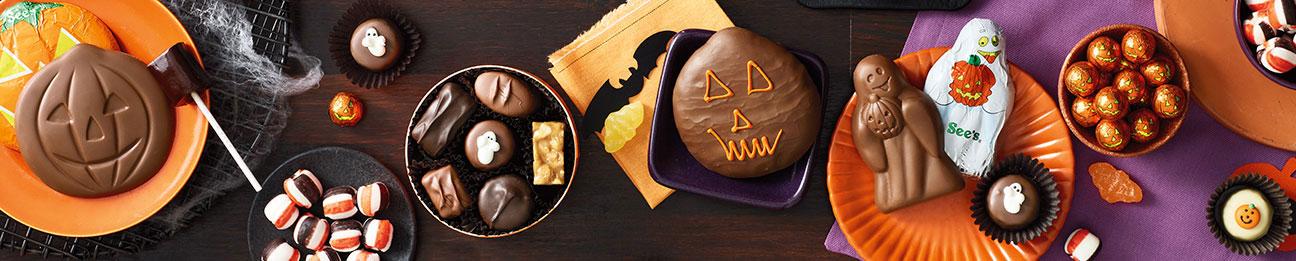 See's Halloween candies environmental