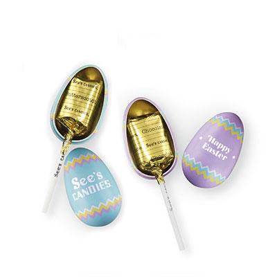 Easter Egg Lollypops