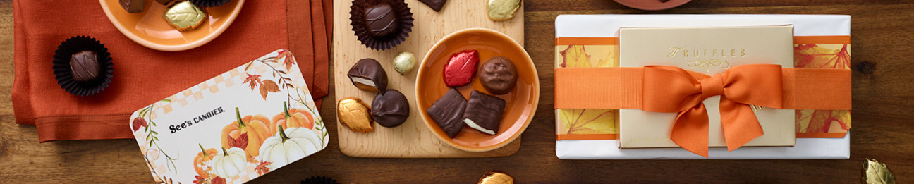 See's Fall candies environmental