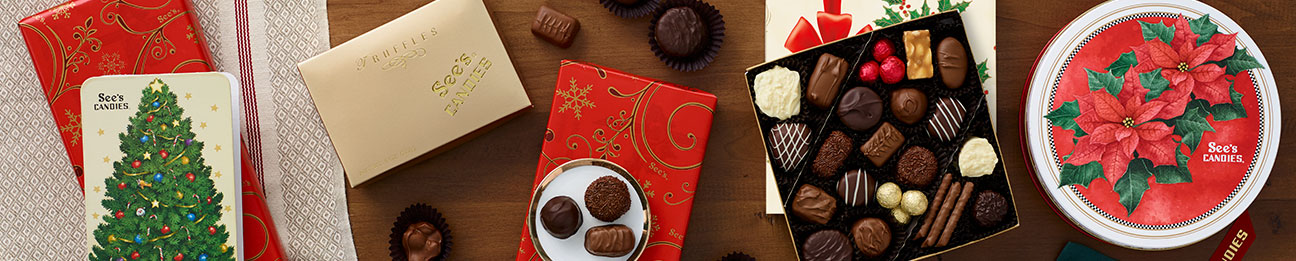 See's Christmas Assorted Chocolates