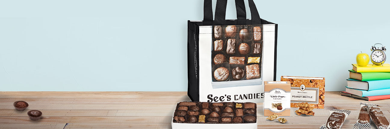 College care kits and back to school candies and treats