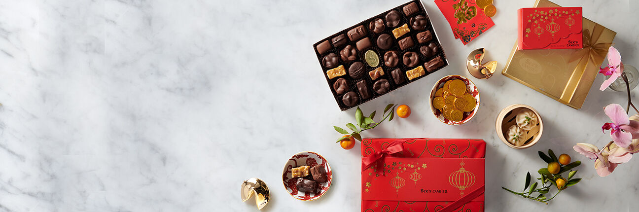 See's Candies Lunar New Year Gifts & Treats