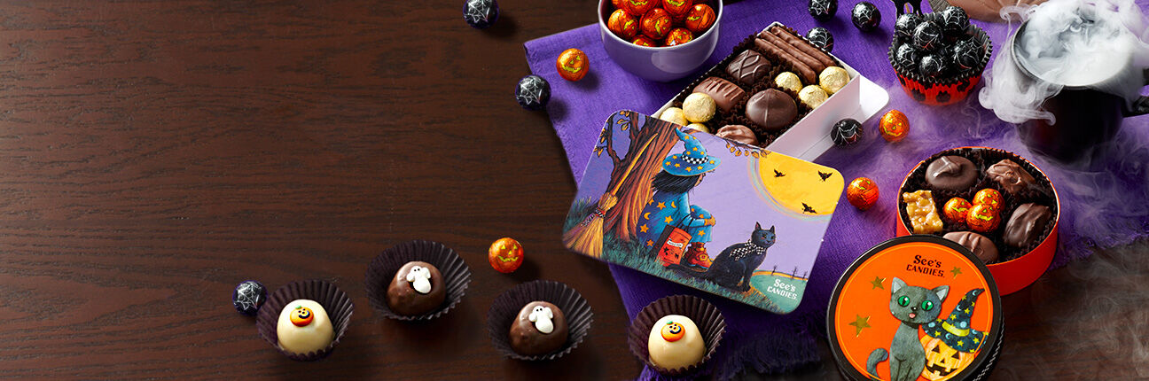 Halloween chocolate gifts and treats