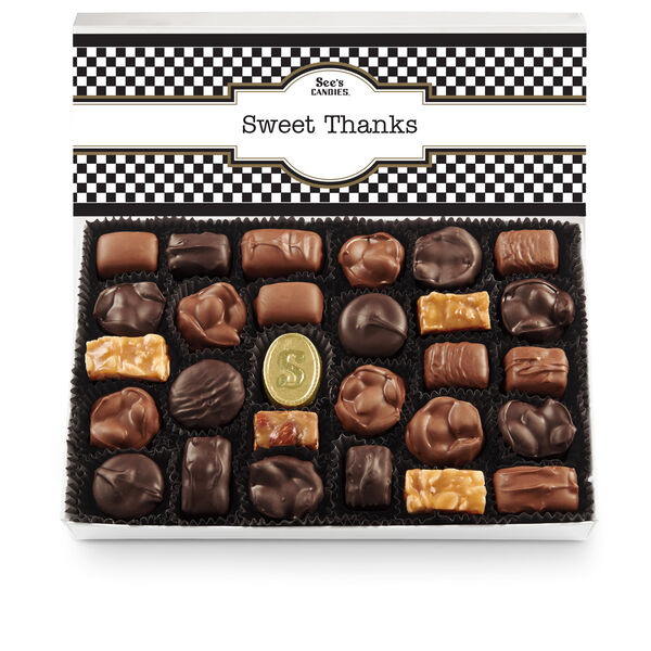 Thank You Box Nuts & Chews