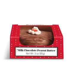 Milk Chocolate Peanut Butter Heart View 3
