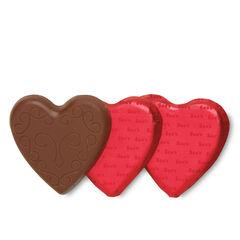 Milk Chocolate Hearts View 1