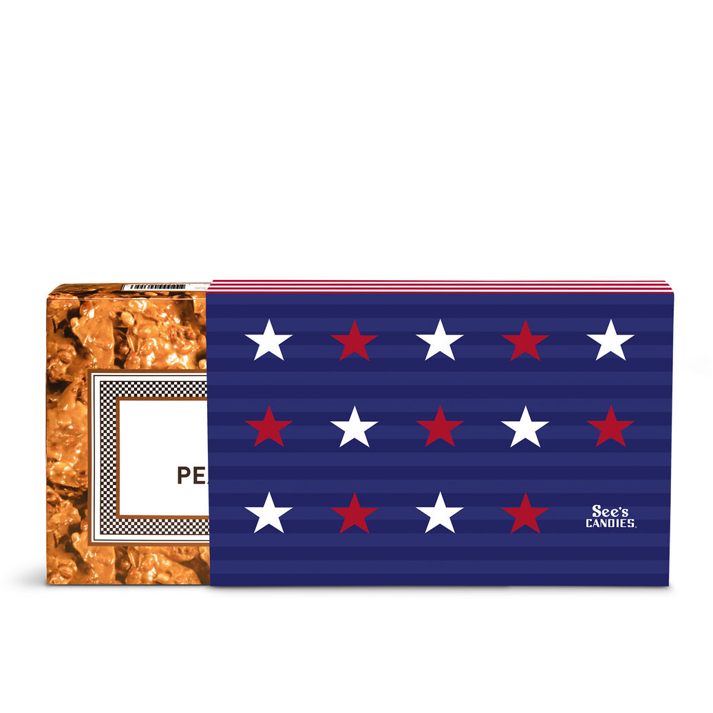 Stars & Stripes Peanut Brittle