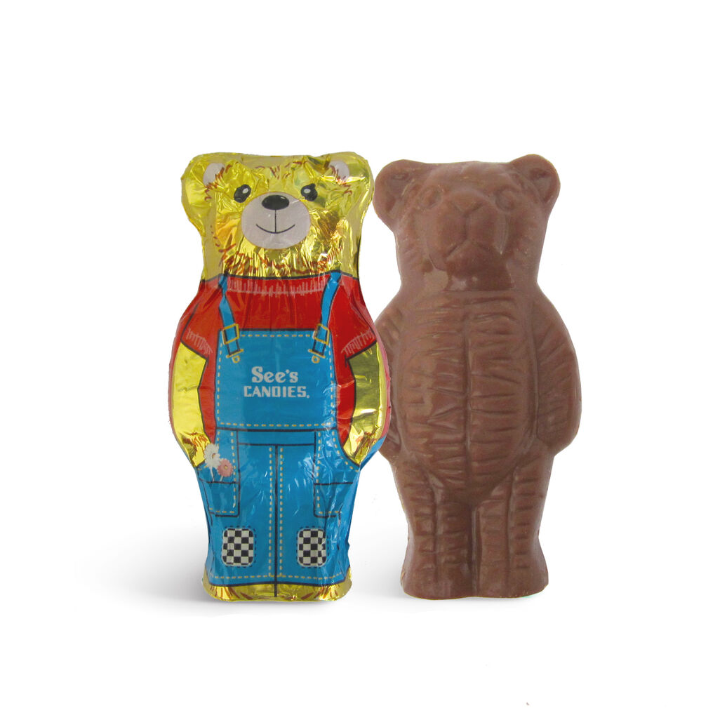 Milk Chocolate Teddy Bears