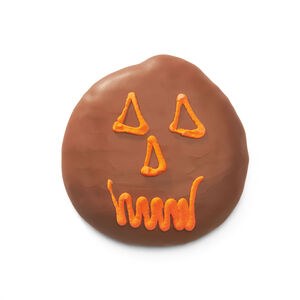 Chocolate Marshmallow Jack-O'-Lanterns