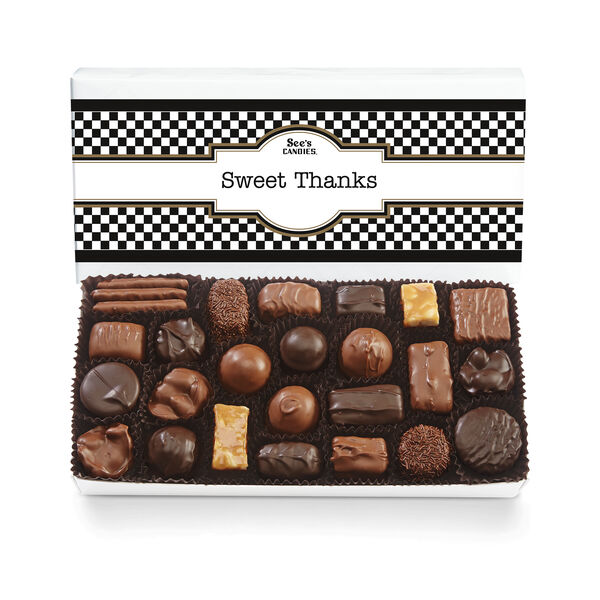 Thank You Box Assorted Chocolates view 1