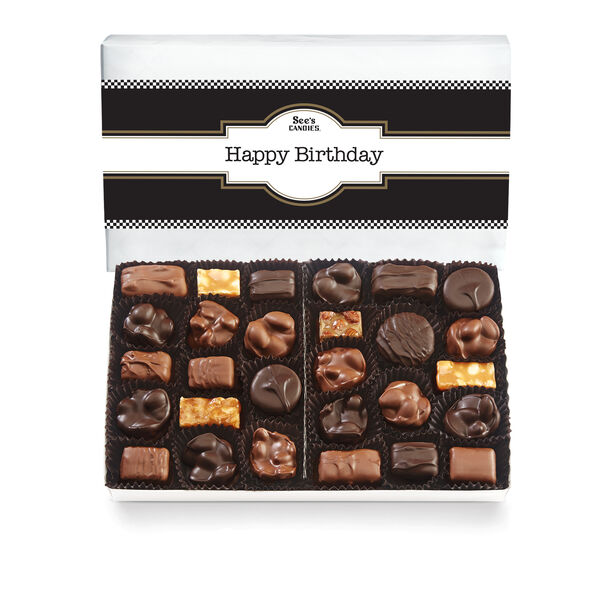 Classic Birthday Nuts & Chews