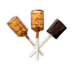 Chocolate Caramel Lollypops View 2