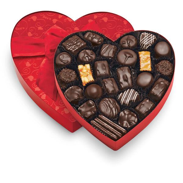 Classic Red Heart - Dark Chocolates