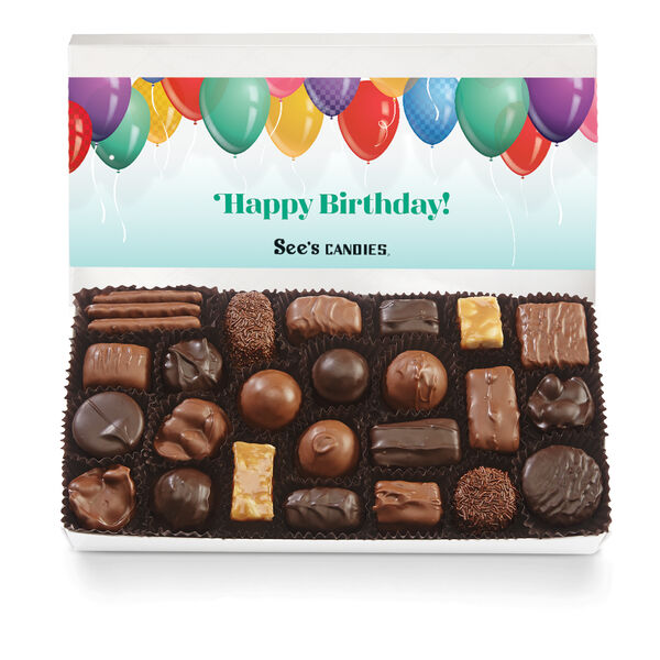 Birthday Wishes Assorted Chocolates