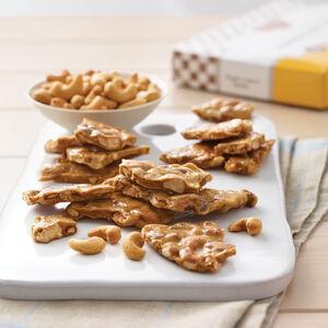 Maple Cashew Brittle