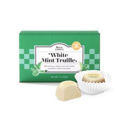 White Mint Truffles View 2