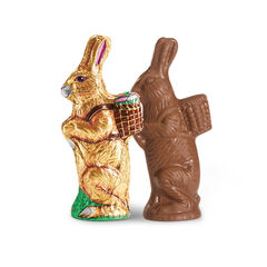 Tall Milk Chocolate Bunny View 1