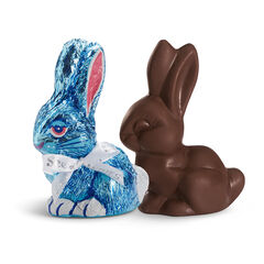 Dark Chocolate Bunny View 1
