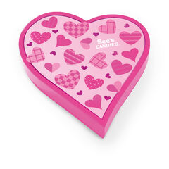 Pink Wishes Heart View 2