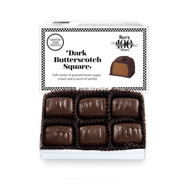 Dark Butterscotch Square