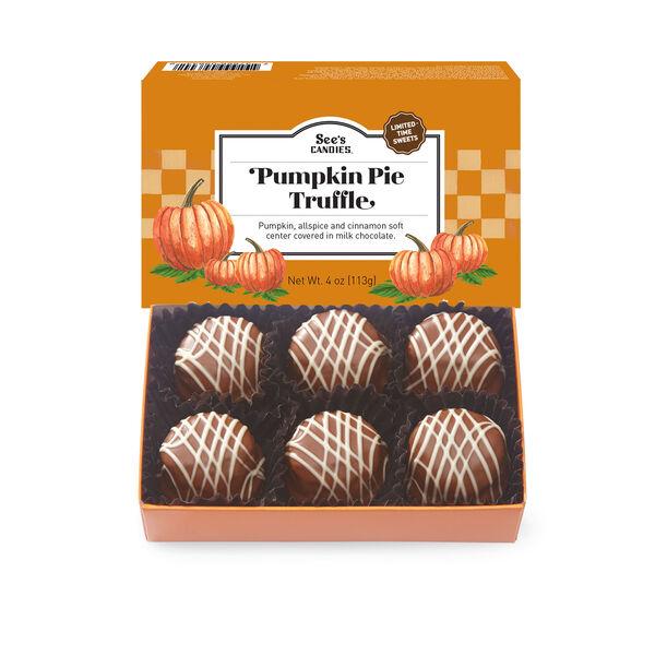 Pumpkin Pie Truffle