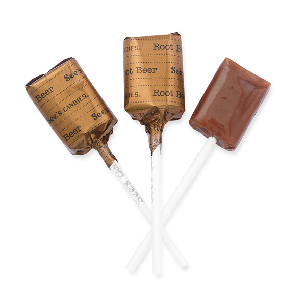 Root Beer Lollypops view 1