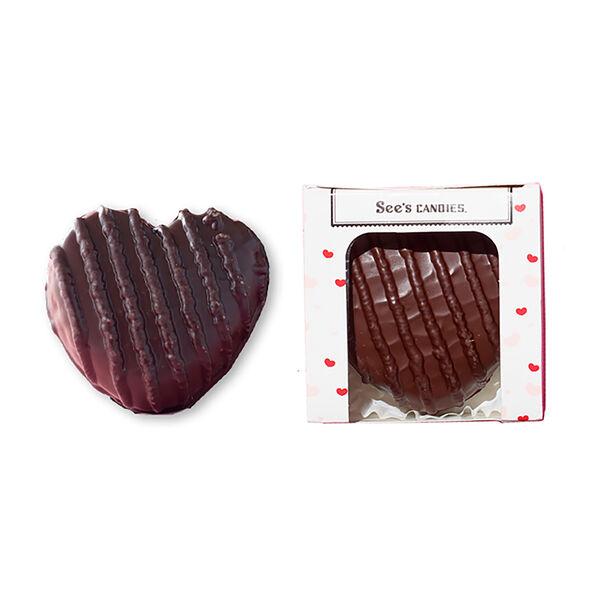 Dark Chocolate Raspberry Heart