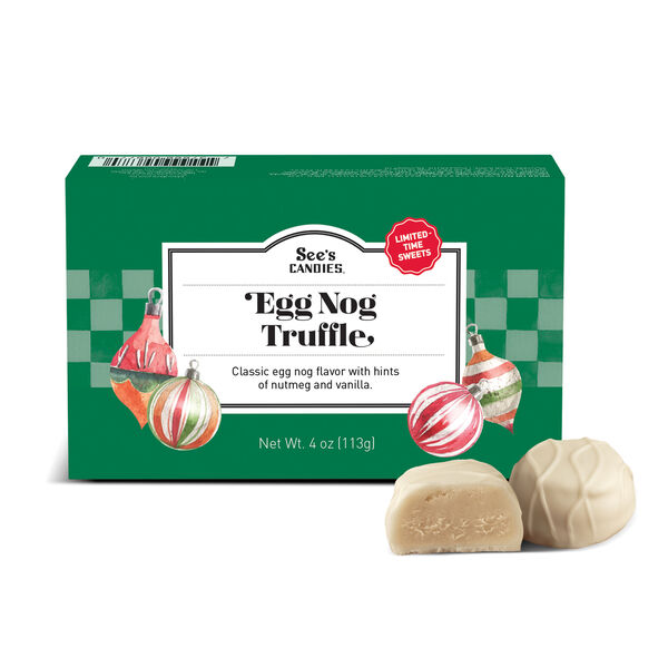Egg Nog Truffles view 1