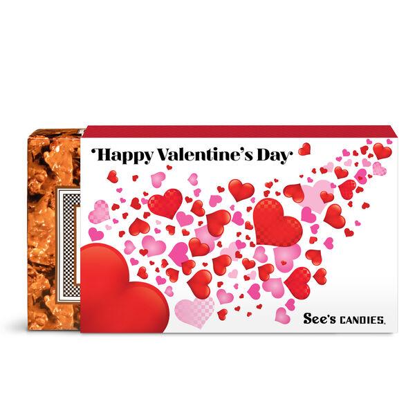 Valentine's Day Peanut Brittle