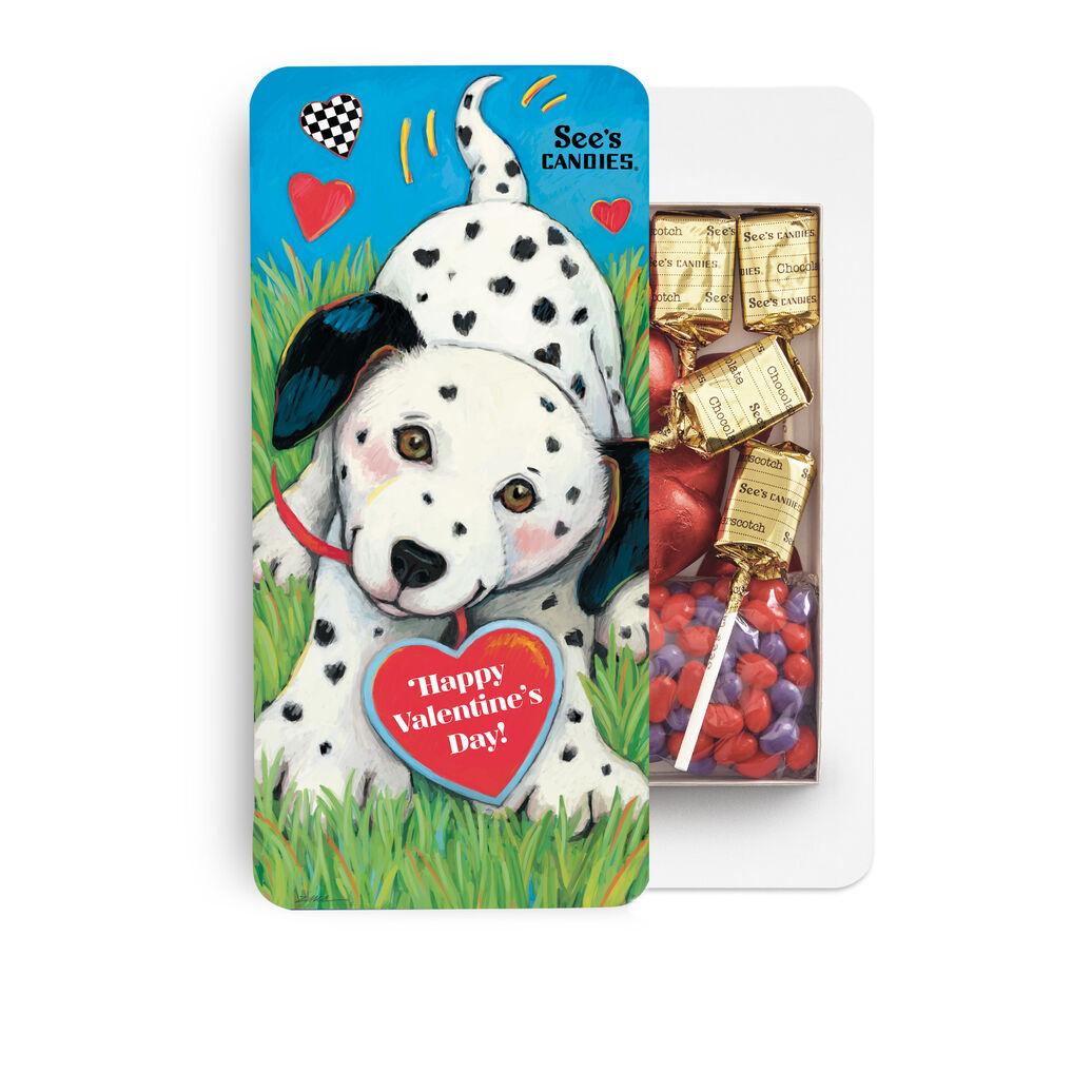Dalmatian & Hearts Box