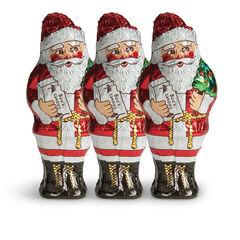 Tall Milk Chocolate Santas View 1