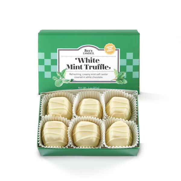 White Mint Truffle