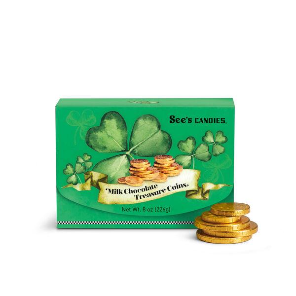 Milk Chocolate Treasure Coins