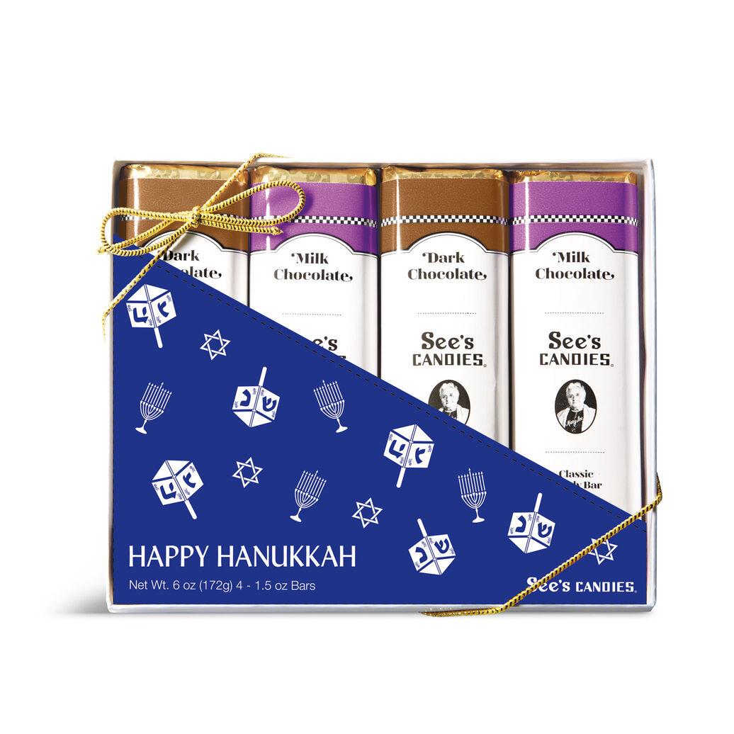 Hanukkah Candy Bars