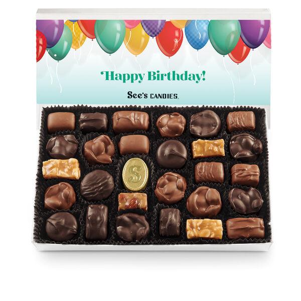 Birthday Wishes Nuts & Chews