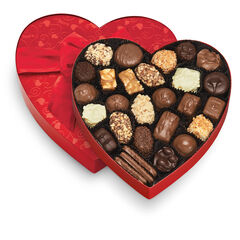 Classic Red Heart - Chocolate & Variety View 1