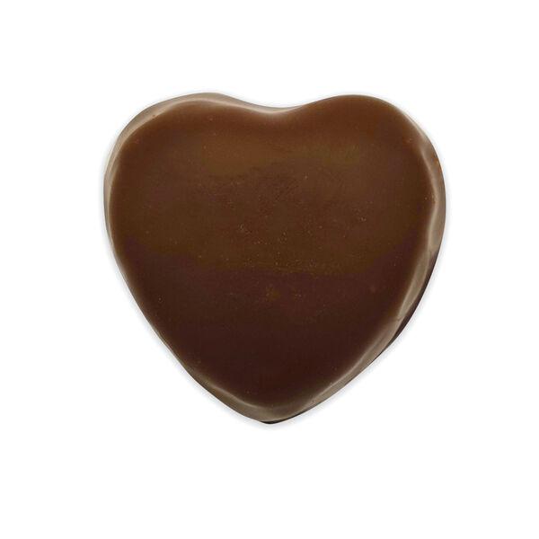 Dark Chocolate Peanut Butter Heart