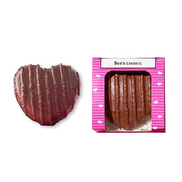 Milk Chocolate Bordeaux™ Heart