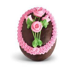 Chocolate Butter Egg with Pecans View 2