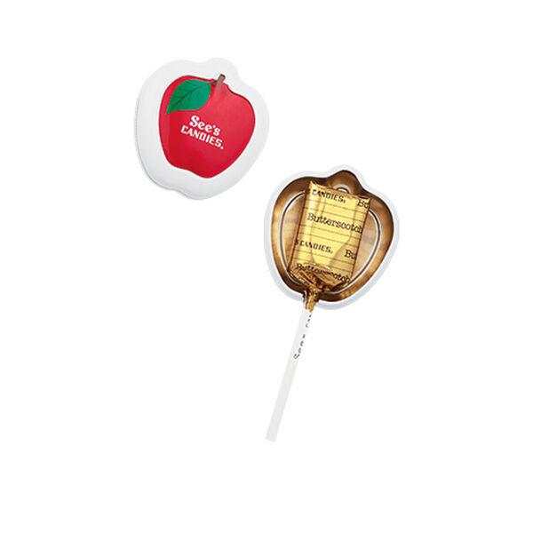 School Days Butterscotch Lollypop