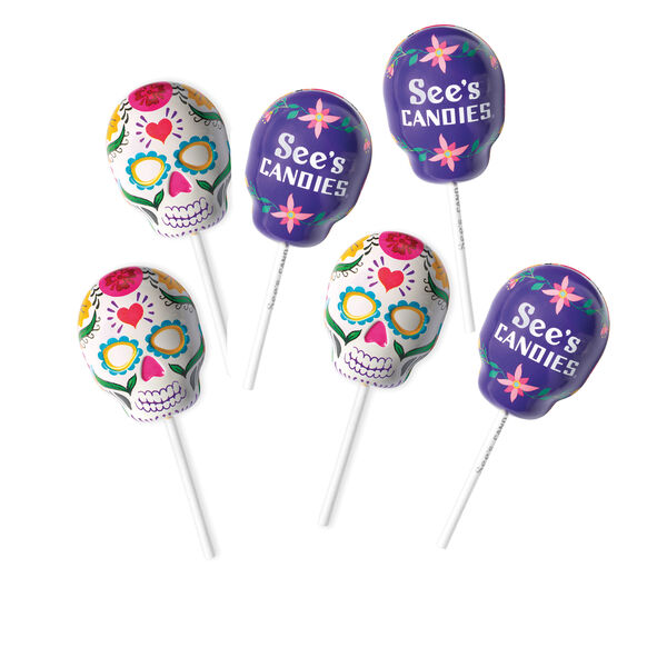 Skull Lollypops